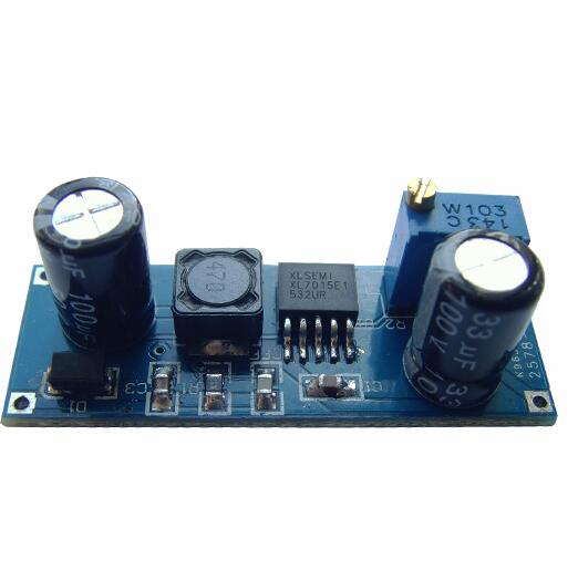 5pcs/lot <font><b>XL7015</b></font> <font><b>DC</b></font>-<font><b>DC</b></font> <font><b>DC</b></font> Converter Depressurization Module 5V-80V Wide Voltage Input Is Better Than 7005A image