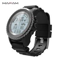 MAFAM S968 gps Смарт часы IP68 Водонепроницаемый Smartwatch динамический монитор сердечного ритма мульти спорта плавание бег Для мужчин спортивные часы