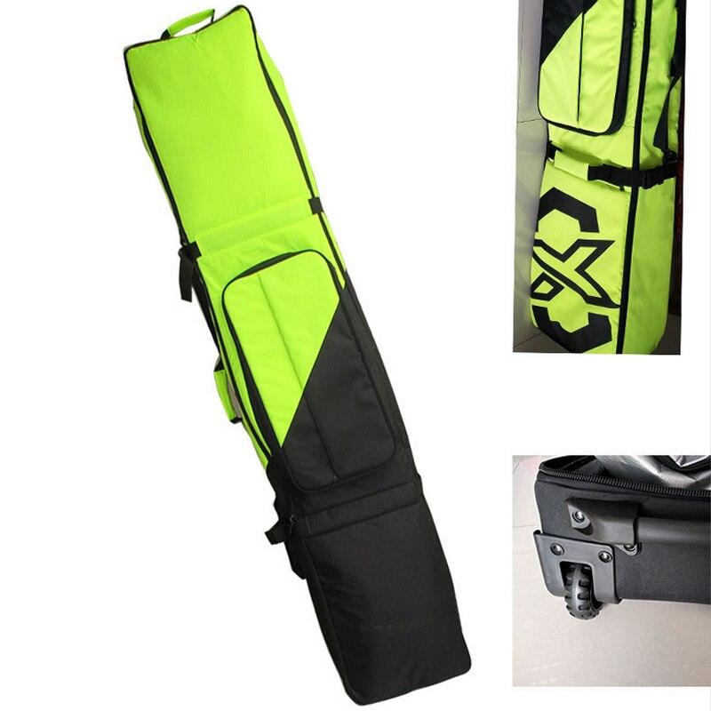 Aktiv Einzigen Snowboard Tasche Ski Rad Paket Single Board Paket Doppel Bord Paket Mit Rad Roller Große Kapazität In Den Spezifikationen VervollstäNdigen