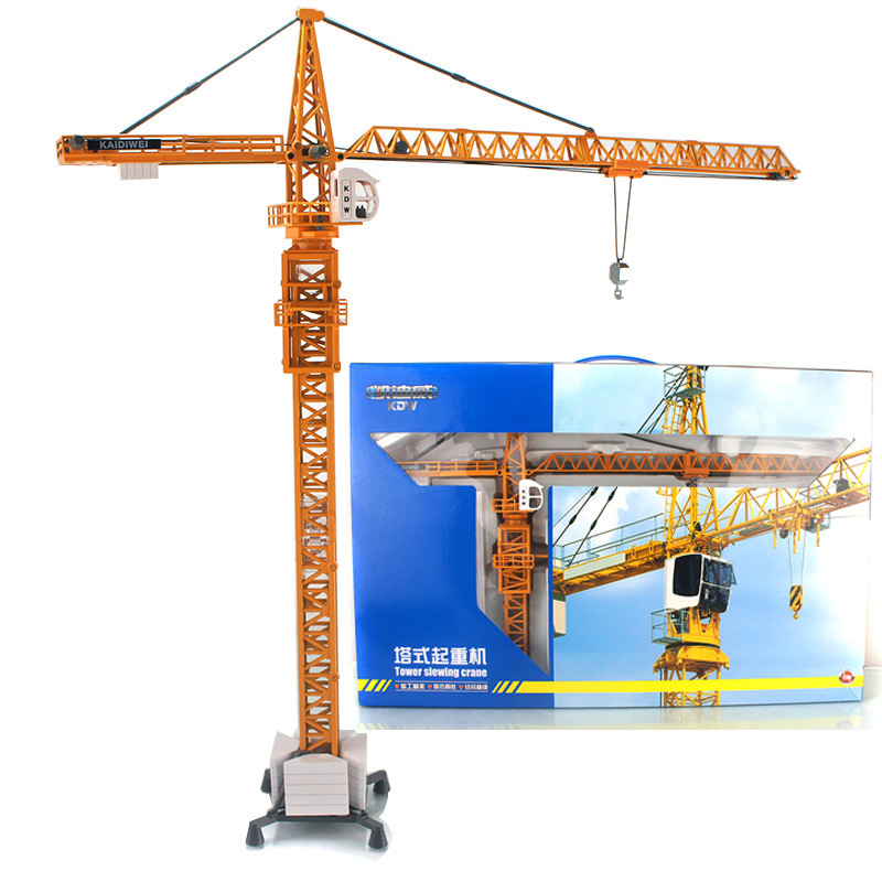real kids shades детские blaze 7 kids toys for children kaidiwei 1:50 scale model car diecast car model blaze car toy Tower crane 625017