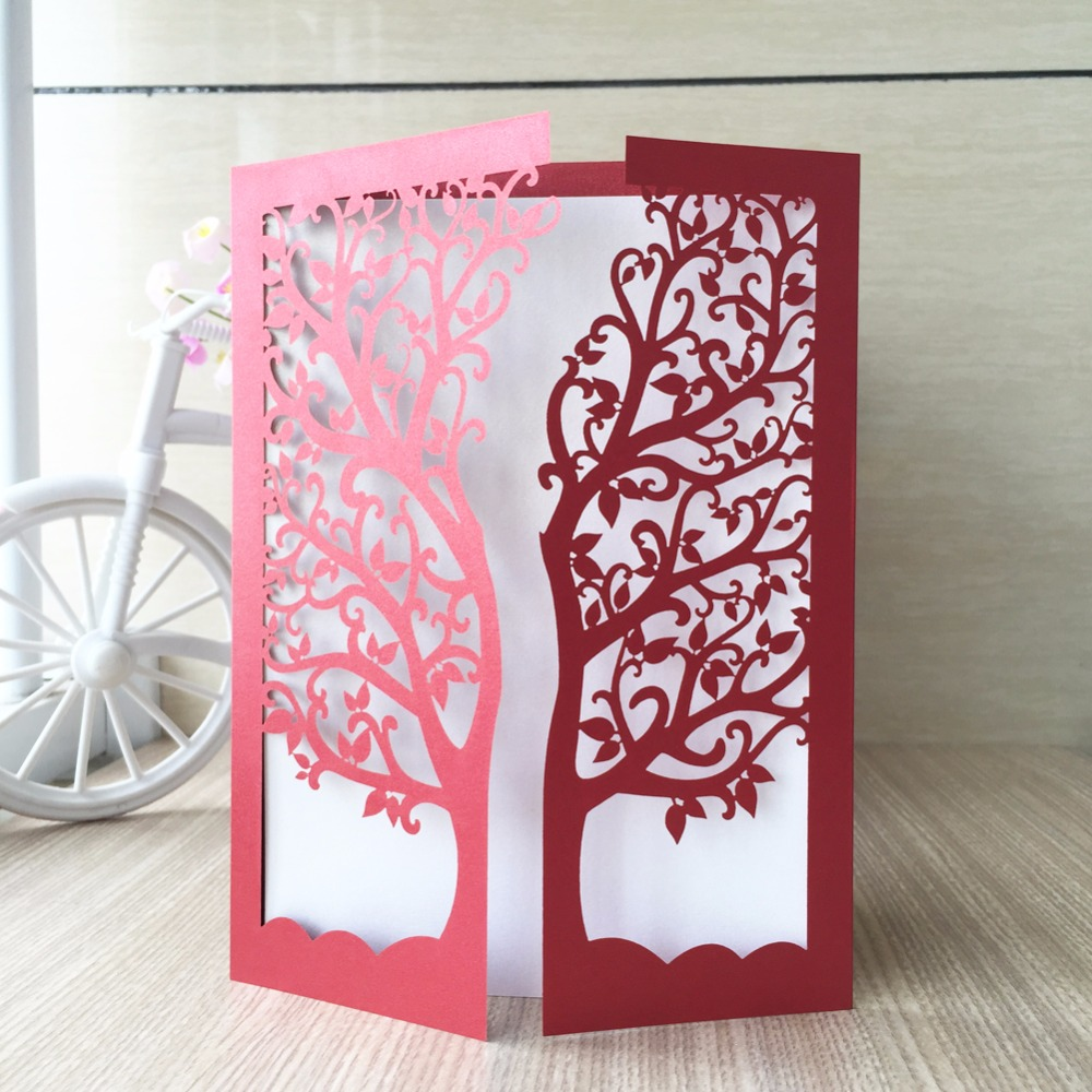 25pcs luxurious wedding decoration supplies china white red laser 25pcs luxurious wedding decoration supplies china white red laser cut wedding invitations elegant tree wedding invitation cards in cards invitations from junglespirit Choice Image