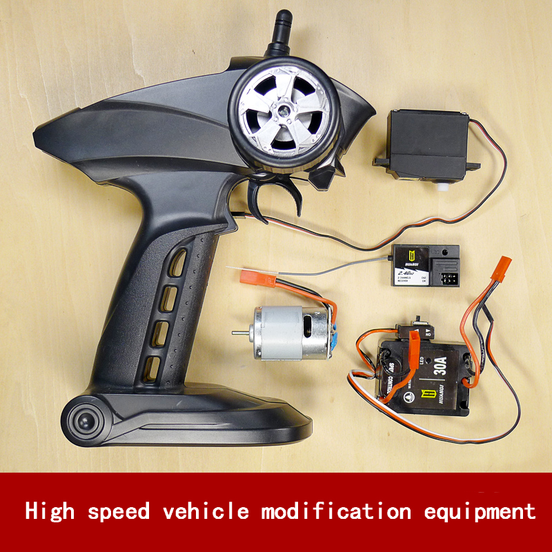 XMX 1:16 High Speed Power Equipment RC car/ship DIY. Steering gear/2.4GHz Receiver/380V motor/brushless electric adjustment gw38zy dc 12v 24v worm gear motor double shaft low speed high torque geared box electric engine for diy robot rc car tank model