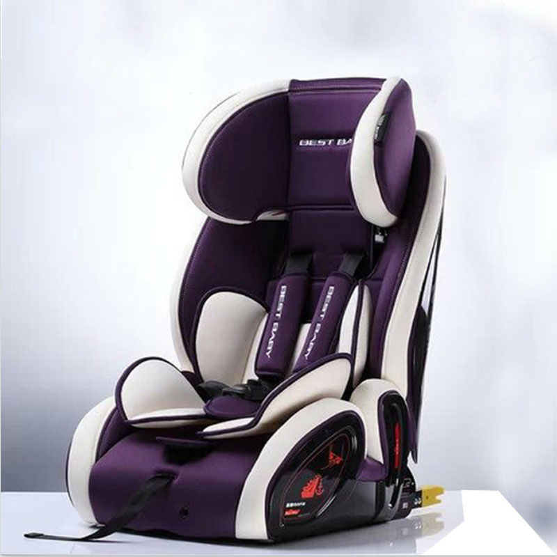 2018 Adjustable Baby Car Seat Group 1/2/3 (9-36 kg) Child Safety Booster Seat Isofix for 9 Months-12 Years whole sale baby safety car seat 4 colors age range 2 10 years old baby car seat for kid active loading weight 9 30 kg baby seat