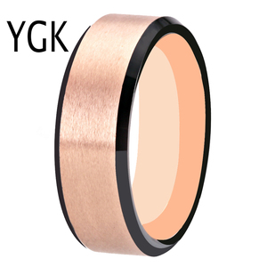 Image 4 - 100% Tungsten Carbide Ring for Men and Women Classic Wedding Engagement Ring Free Engraving Anniversary Jewelry Matte Finished
