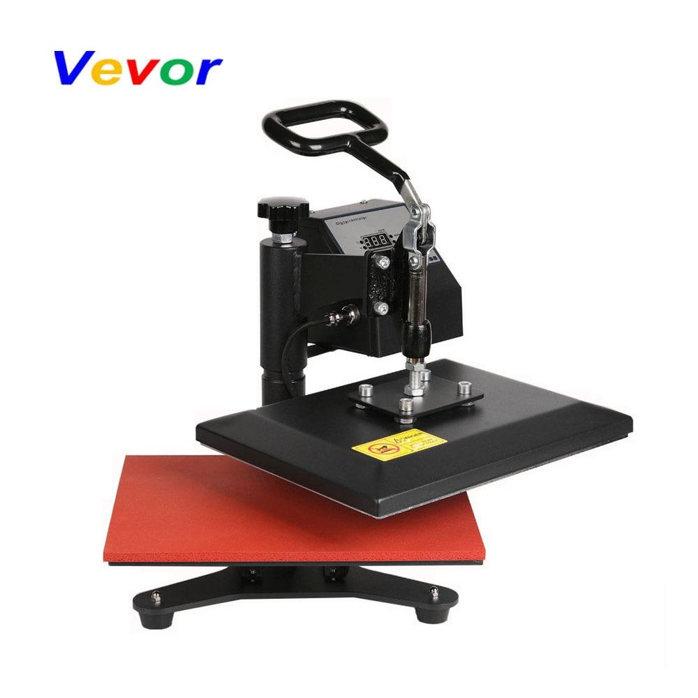 VEVOR Heat Press Machine 30cm*24cm T-shirt Photo Clam Sublimation Heat Presses Printers for Cap Presse a chaud Multifunction