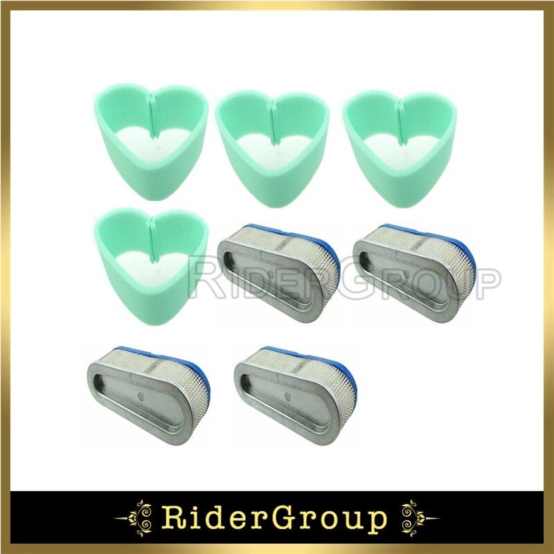 Air Filter For Briggs & Stratton 493910 5075 196700 259700 28A700 4199 28B700 28C700 28D700 691667 4166