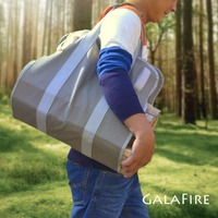 16 Oz Canvas Supersized Durable Firewood Carrier Log Tote Camping Outdoor Carry Bag