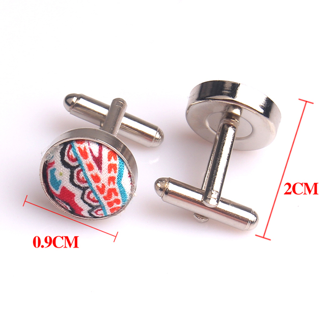 Round Cufflinks Meter Cufflink Wedding Shirts Cuff Button Links Mens Jewelry