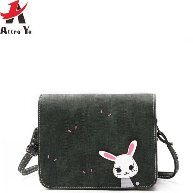 ATTRA-YO Luxury Brand shoulder Bag Designer Handbags High Qualiry Single Messenger  bag Women Messenger 0fe52879cb