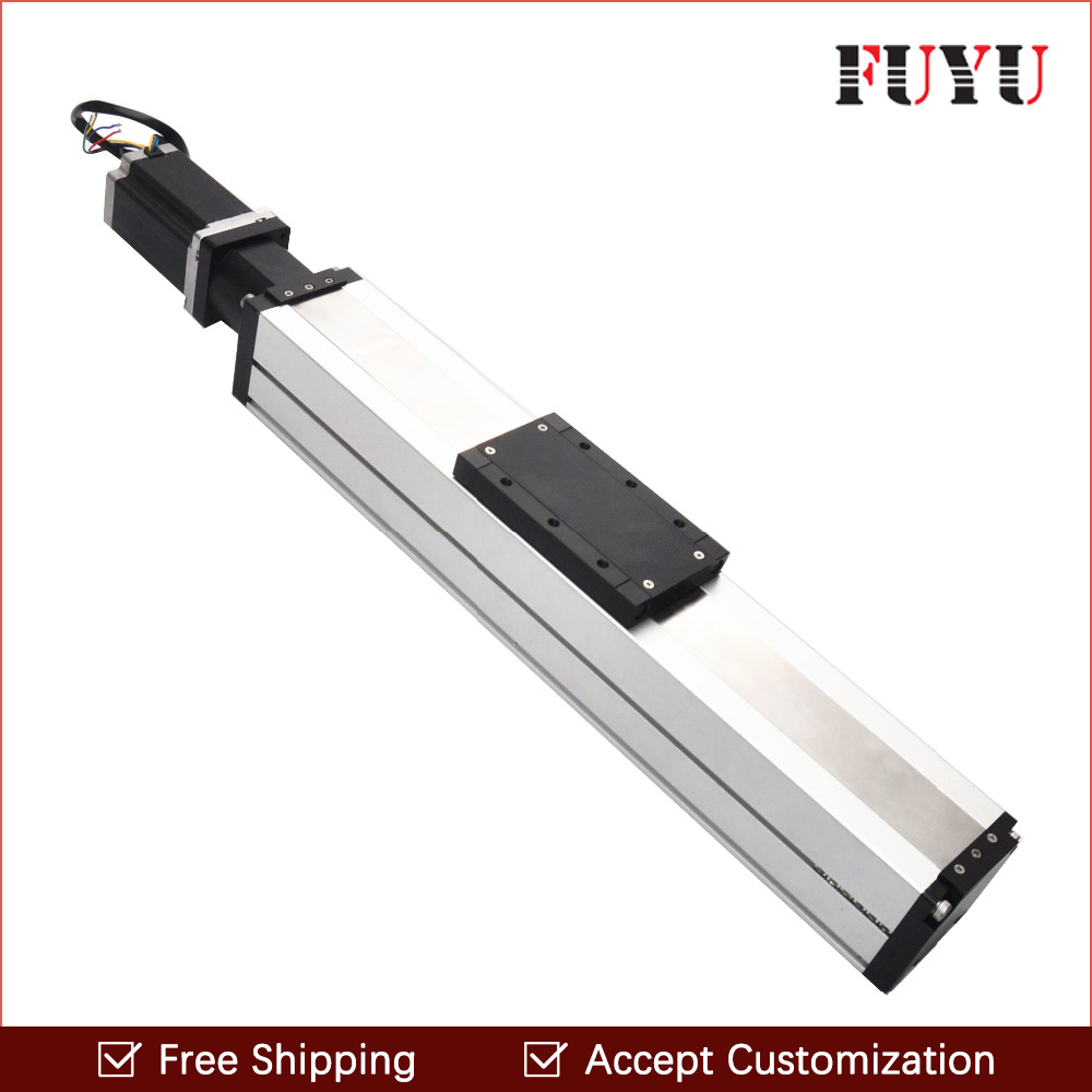 Freeshipping 200mm stroke economic linear motion guide rail heavy load capacity for engraving group search optimizer for economic load dispatch