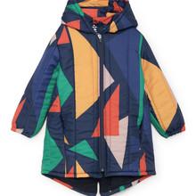 BOBOZONE 2018 Geometric Padded Jacket for kids girls boys coat