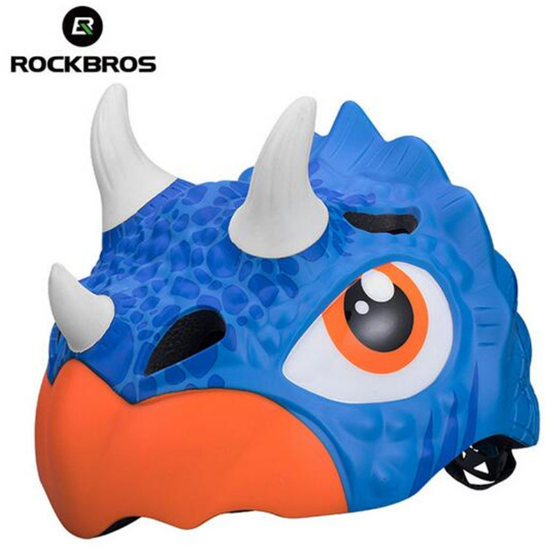 ROCKBROS Child Bike Helmets Cartoon Cycling Riding Skating Childrens Helmets Breathable Safety Bicycle HelmetROCKBROS Child Bike Helmets Cartoon Cycling Riding Skating Childrens Helmets Breathable Safety Bicycle Helmet