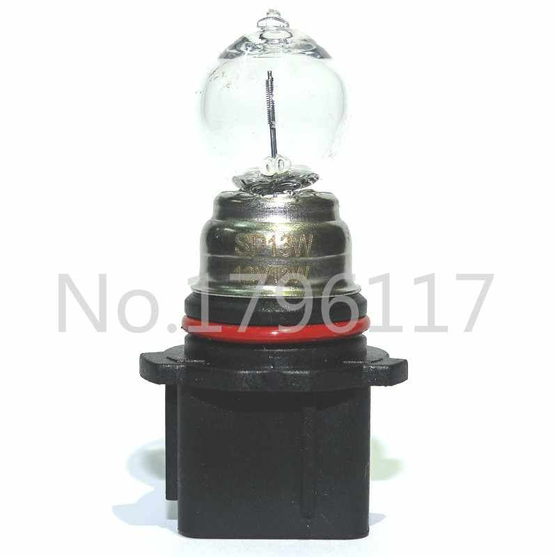 1x PG18.5D-1 P13W SP13W 12V13W 4300K Yellow Car Head Lamps DRL Fog Bulbs Halogen Lamp Automotive Auto Replacement Lndicator Bulb