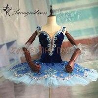 2015 New Arrival Royal Blue Classical Ballet Tutu With Bodic Velvet Pancake Tutu Professional Tutus