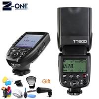Godox TT600 GN60 HSS 1/8000s Camera Flash Speedlite+2.4G Wireless X System Xpro N Flash Transmitter For Nikon+Free Gift