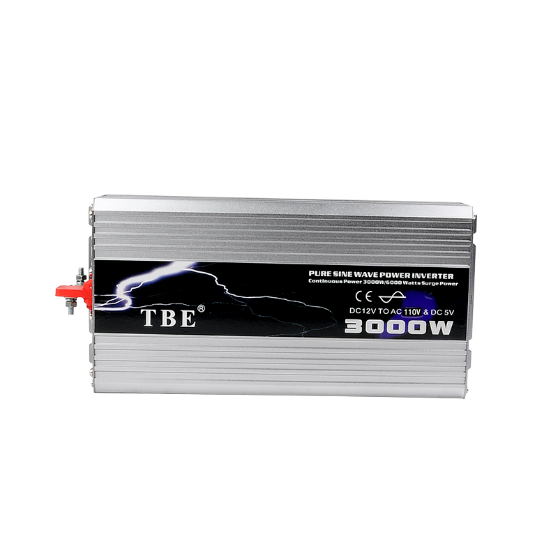 DC12V /24VTo AC110V/220V Pure Sine Wave Inverter USB Car Electronic Accessories Solar Inverter TBE 3000watt 3000W Power Inveretr