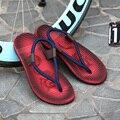 Nuevo 2017 Del Verano de Excelente Calidad Hombres Chanclas de Verano Zapatos Sandalias Zapatillas de Playa Masculino de Alta Calidad Tamaño 39-44
