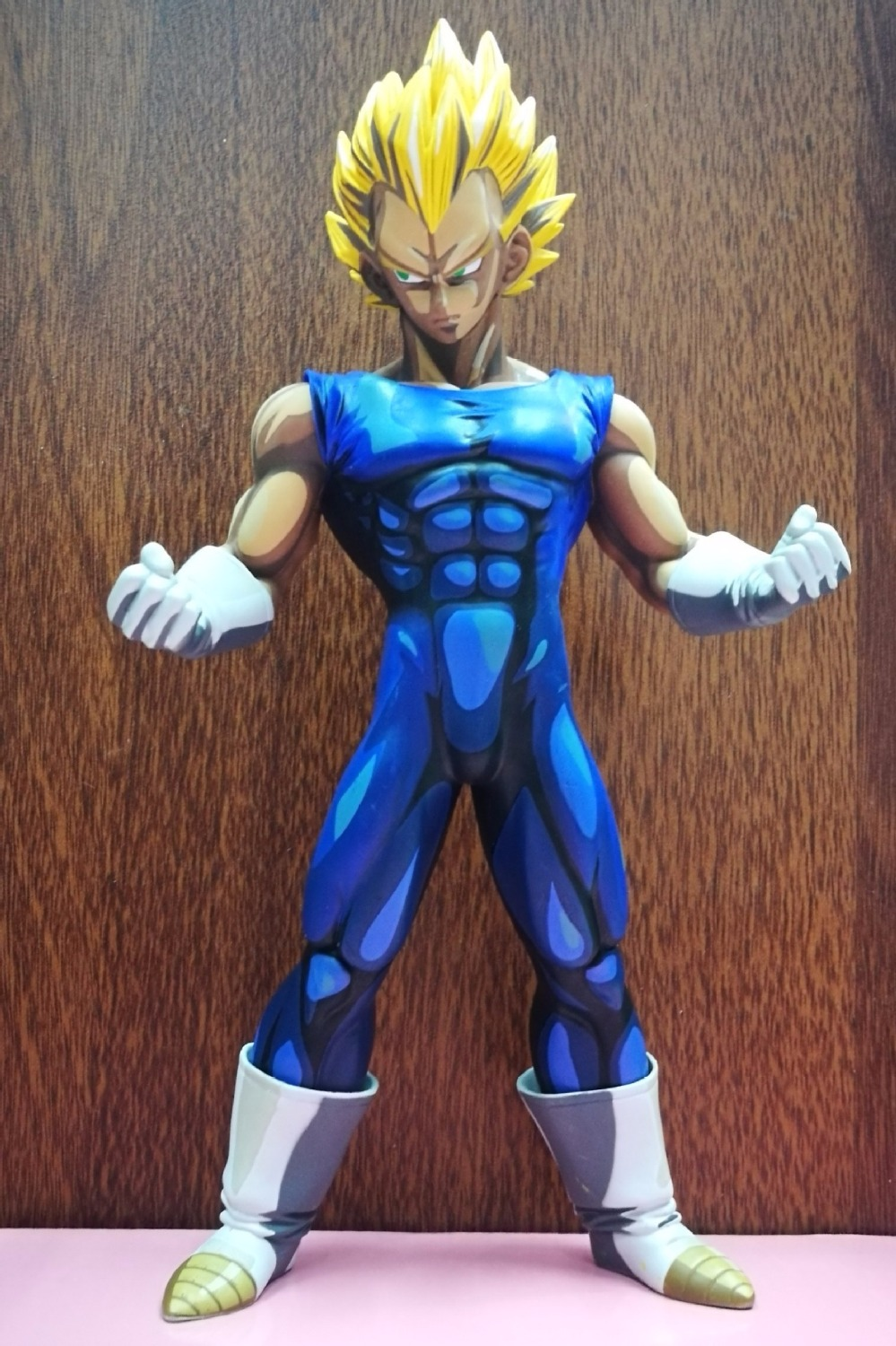 Anime Dragon Ball Z MSP Master Stars Piece Super Saiyan The Vegeta PVC Action Figure Collectible Model Toys Doll 26CM DBAF059 anime one piece dracula mihawk model garage kit pvc action figure classic collection toy doll