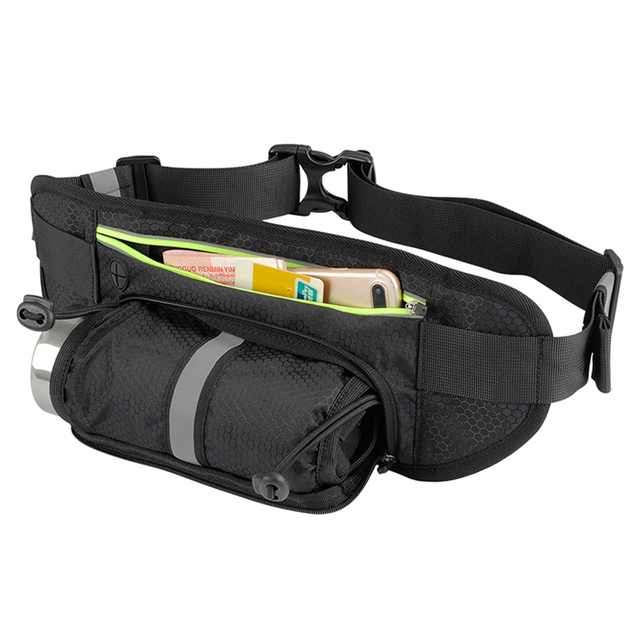 Fitness Sport Accessories Trail Running Bag Mobile Belt Marathon Women Mens Sports Wallet Bags Waist Bottle Bag 6