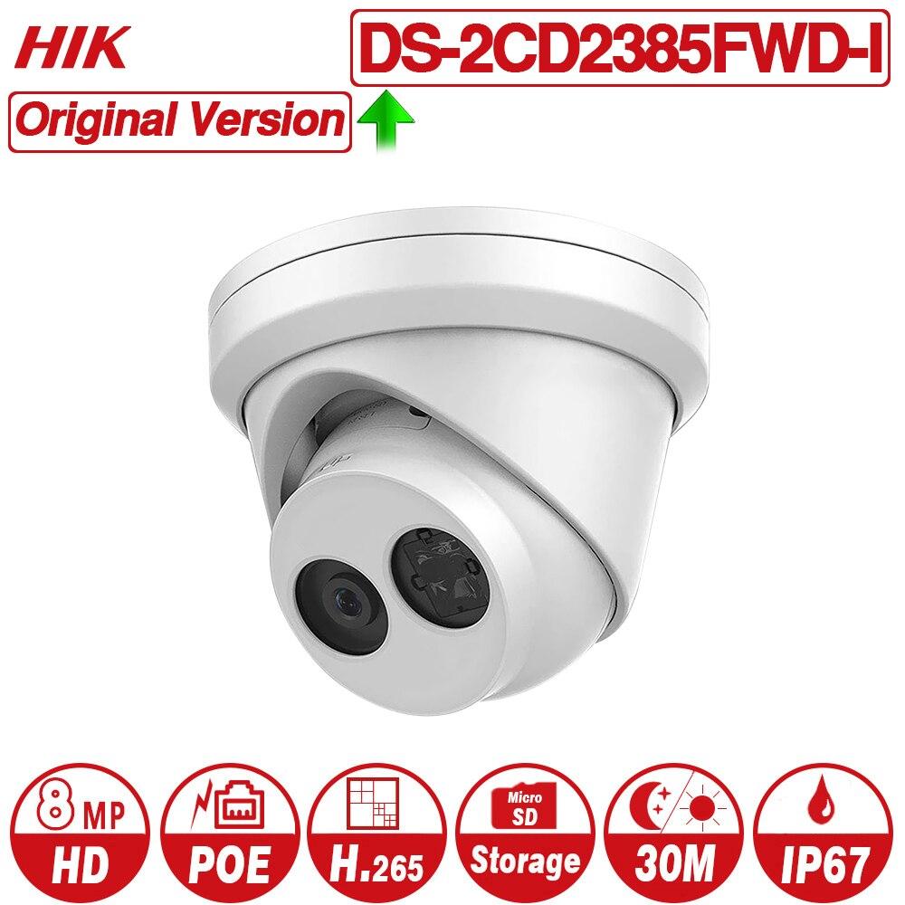 Hikvision Original 8MP IP Camera DS 2CD2385FWD I Network CCTV Camera H 265 CCTV Security POE