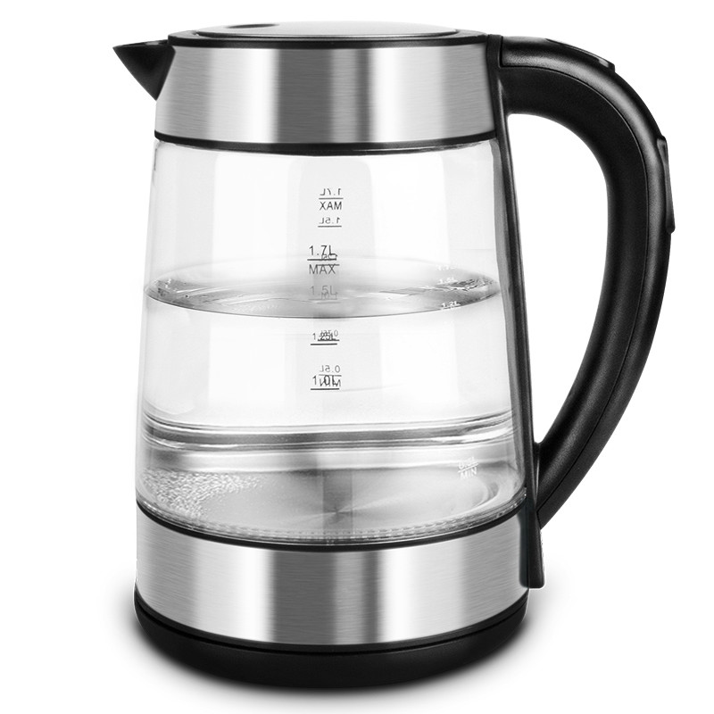Glass automatic electric thermo-electric kettle electronic temperature-tempering