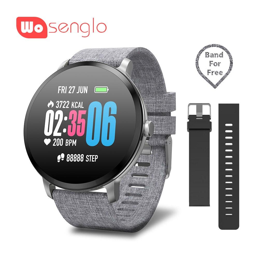 V11 Smart watch Sport Bluetooth Wirstband Waterproof Passometer Heart Rate Tracker Alarm clock For Samsung Sony Huawei bracelet