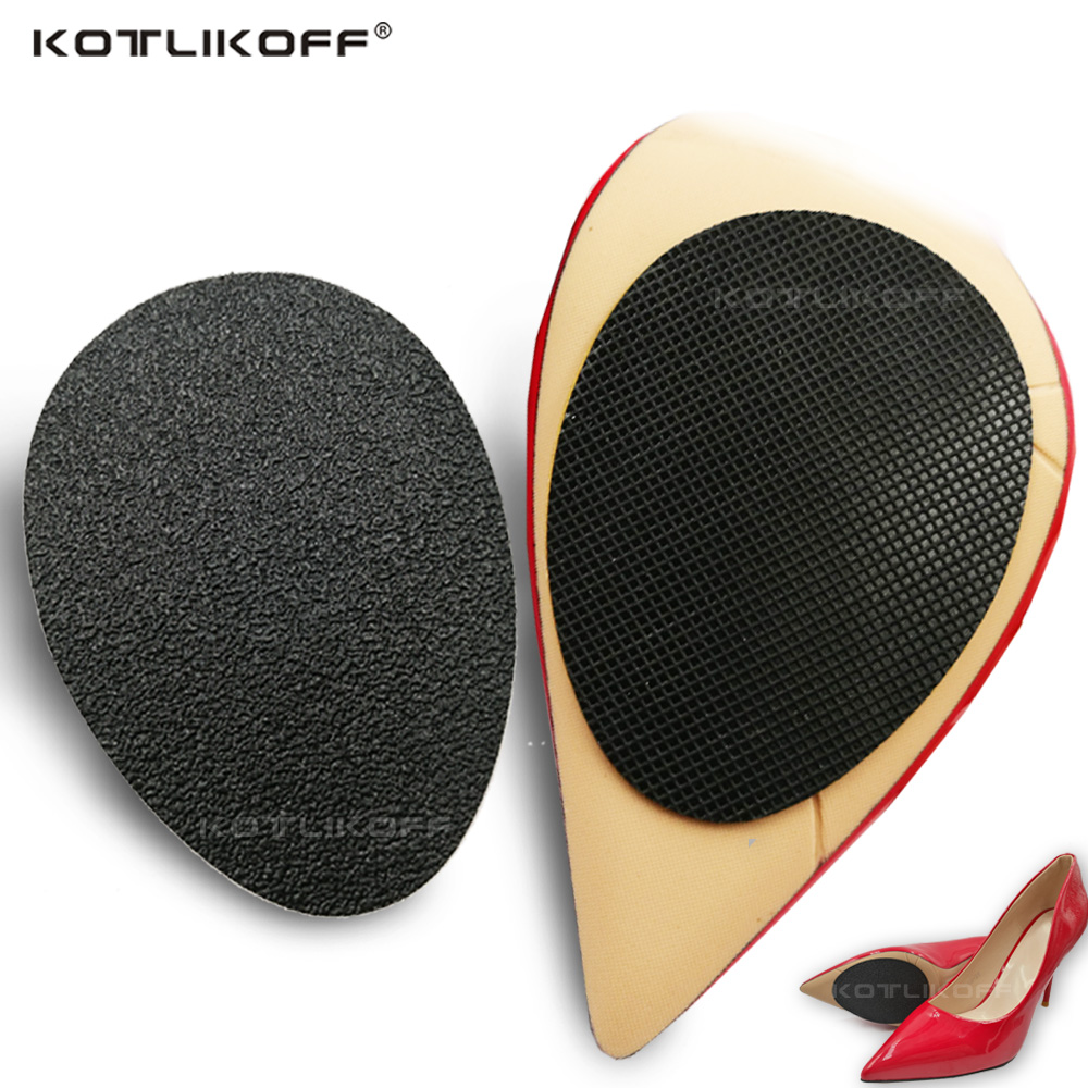 KOTLIKOFF 20 Pair/lot Anti-Slip Shoes Heel Sole Protector Pads Self-Adhesive Non-Slip Grip Cushion Shoe Insert Shoes Accessories