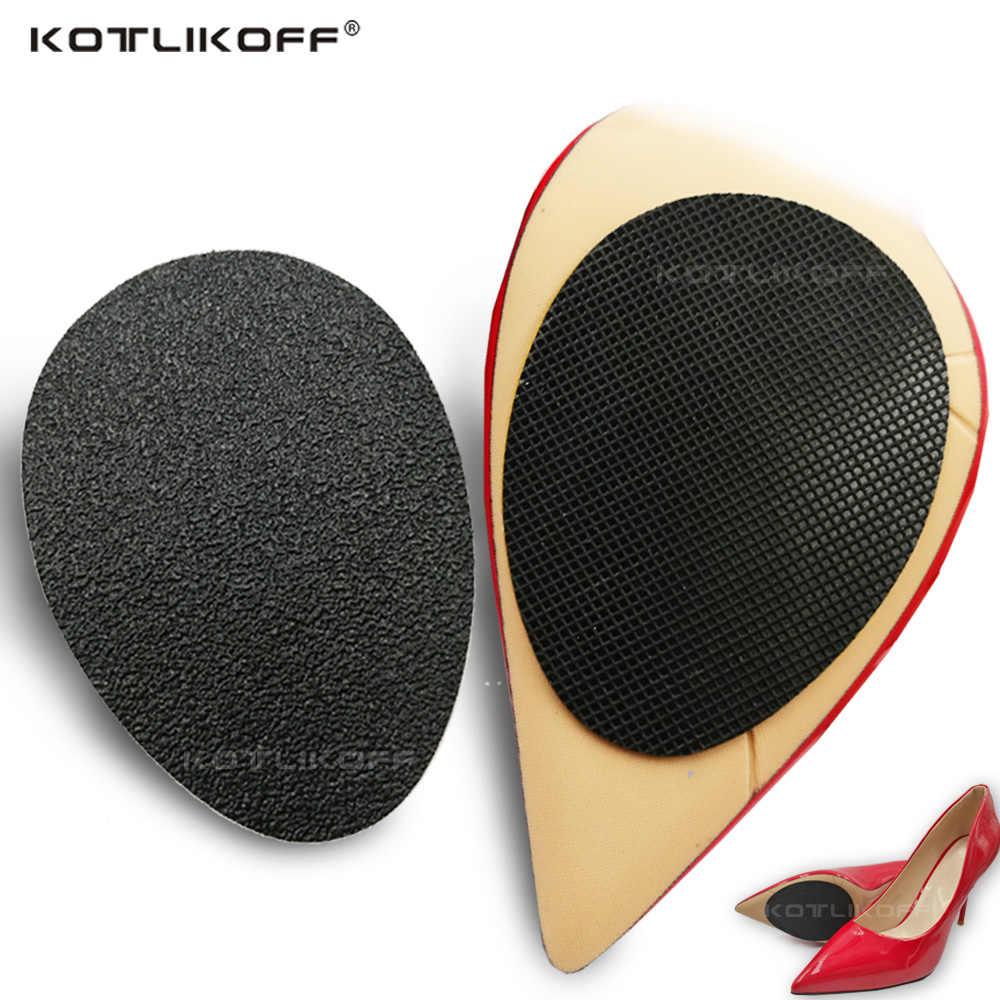 KOTLIKOFF 20 זוגות\חבילה אנטי Sole עקב נעלי מגן רפידות דביק החלקה אחיזת כרית נעל הכנס נעלי אביזרים