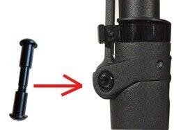 Schraube für XIAOMI M365 elektrische roller Nach Maß Klapp Haken Festen bolzen schraube Folding ort schraube teile