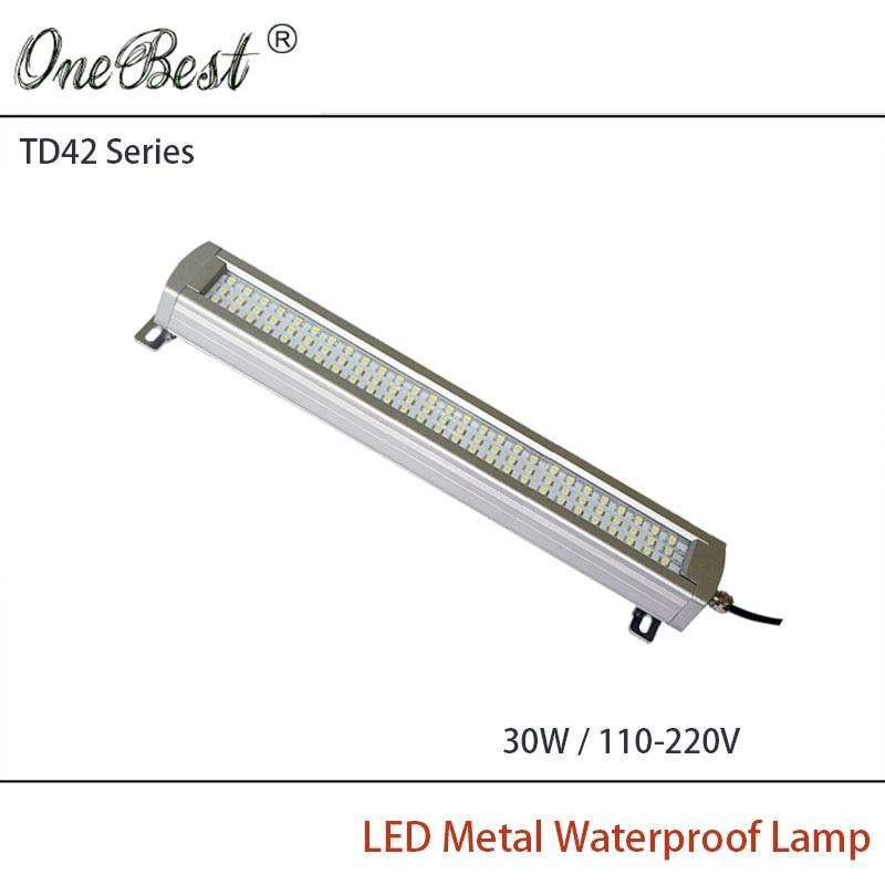 ФОТО HNTD TD42-30W 110-220V Led Metal Panel Light CNC Machine Tool Waterproof Explosion-proof Led Work Lamp Hot Selling