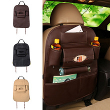 Foldable Car Care Leather Car Seat Cover Storage Trip Waterproof Car Styling Travel Bag Car Multi-use Organizer 7 Pocket