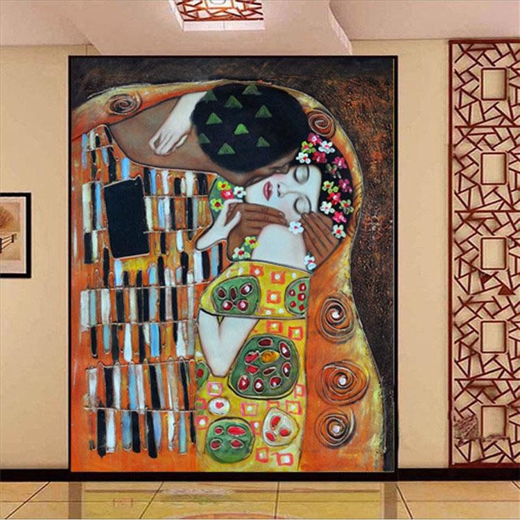 Buy custom 3d photo wallpaper gustav for Custom mural painting
