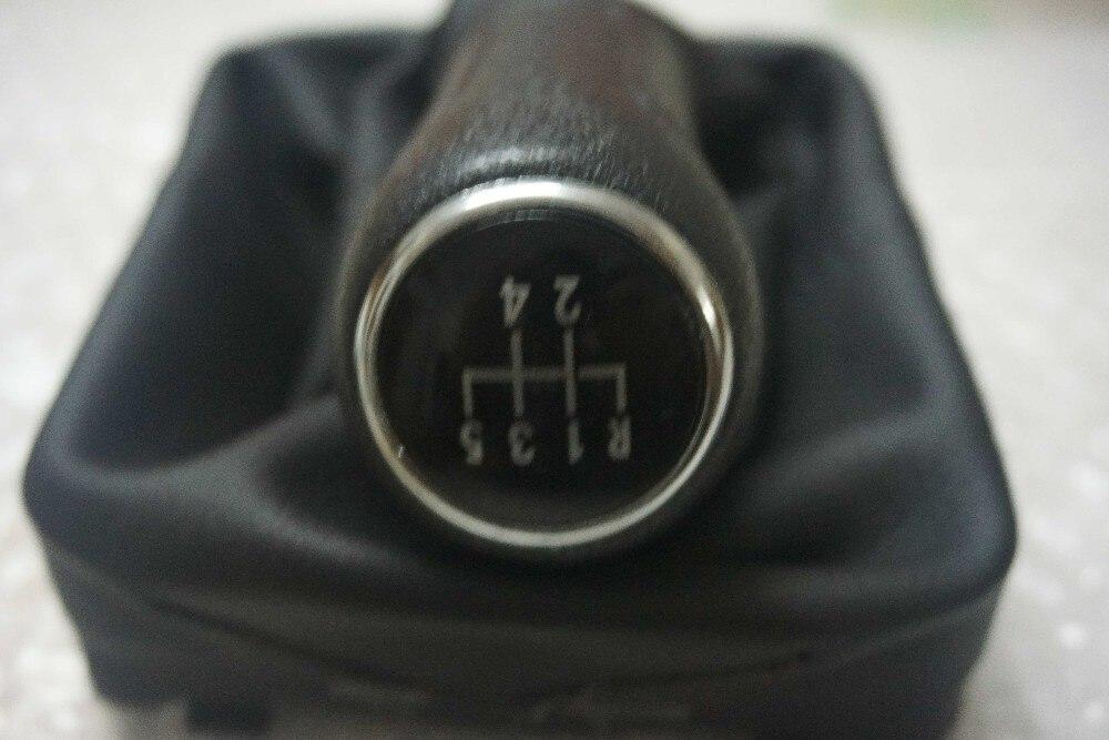 cadre Pour VW Volkswagen Polo MK4 9N 9N2 02-09 5 Vitesse Pommeau Grey Gear gaiter