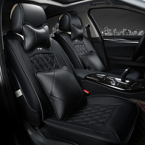 Image 3 - car Seat Covers Whole Surrounded auto cushion  Car headrest neck headrest Single Car pad