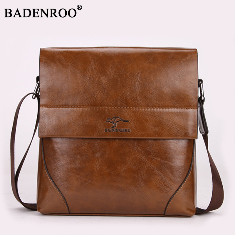 2018 New fashion PU Leather Casual Messenger Bags for Man High quality Men Travel Business Crossbody Shoulder Bag travel Satchel цена