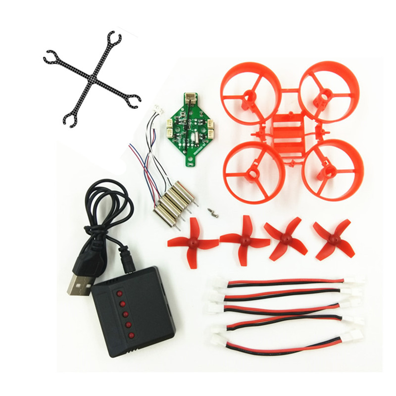 DIY RC Drone Kits 615 Motor H36 Battery Balance Charger Parts E010 E010C E010S JJRC H36 Tiny6 Blade Inductrix Tiny Whoop
