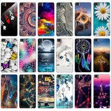 Soft TPU Phone Cases For BQ Aquaris M5 Covers M 5 Case Bags Back Housi
