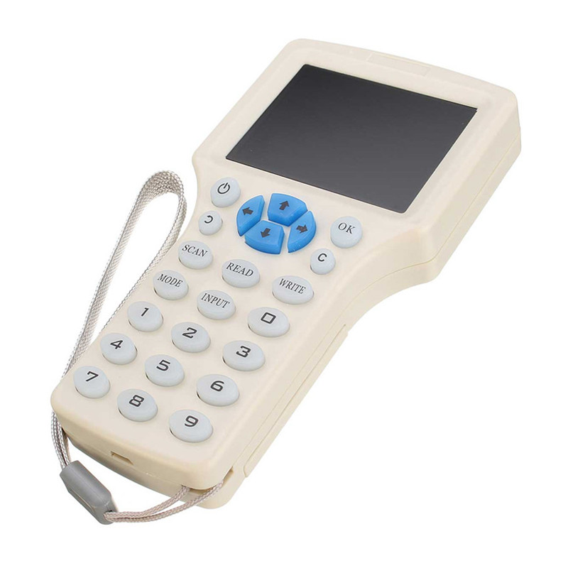 English 10 Frequency RFID NFC Encrypted Copier Reader Writer Cloner