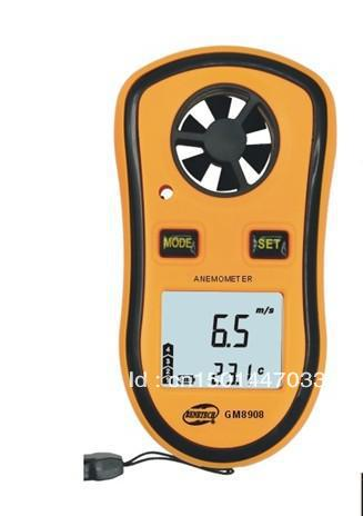 цена на Speed 0 - 30M/S Fan Portable Digital Anemometer/ Wind Instrument / Wind Speed Meter / Gauge