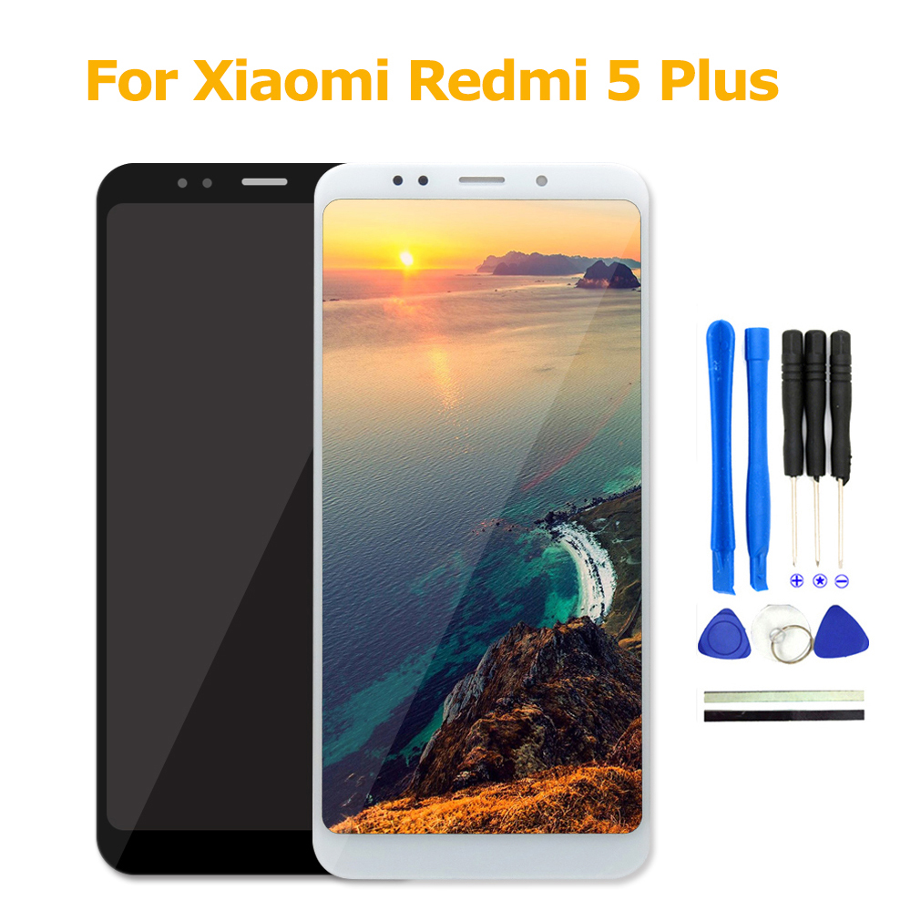 LCD Screen 5.99 For Xiaomi Redmi 5 Plus LCD Display+Touch Screen Assembly Phone Accessory For Xiaomi Redmi 5 Plus LCD