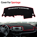 Car-Styling Dashboard Car Covers Mats Shade Cushion Photophobism Pad For KIA Sportage Third Generation 2012 2013 2014 2015 LHD