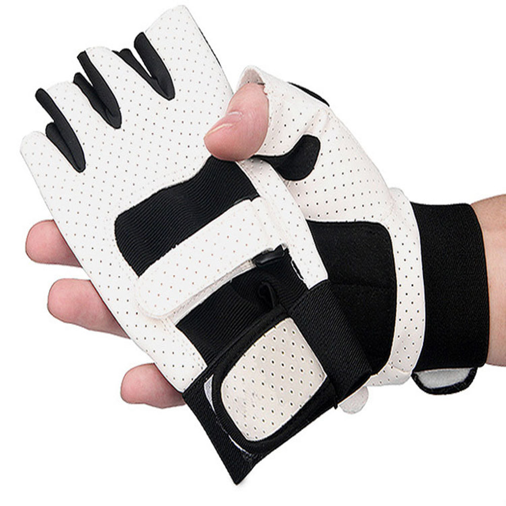 Sport Gloves For Gym: Sports Gloves Half Finger Cycling Bike/Bicycle Gloves Non