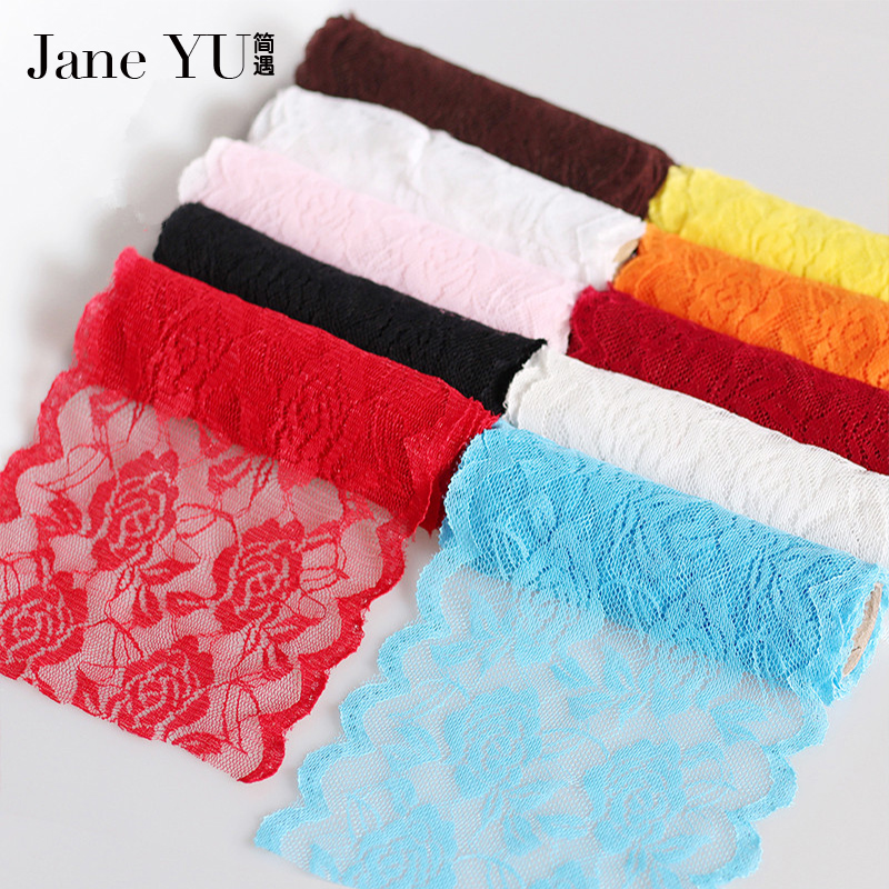 Arts,crafts & Sewing Generous Janeyu Novelty Diy 30 Meters/lot Width 4.2cm 12color Eyelash Lace /handmade Clothing Accessories/ Wedding Accessories Wholesale