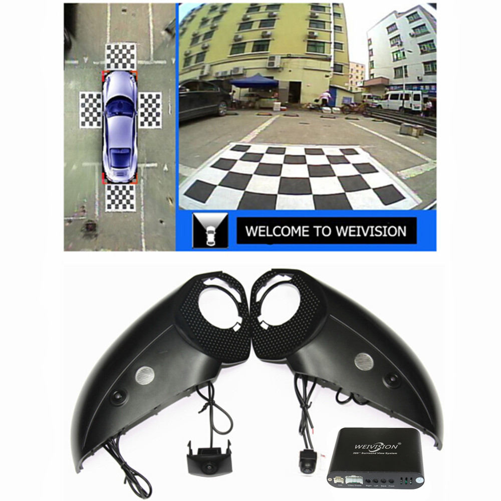 WEIVISION 360 Degree bird View bird view Car  Panoramic View System, Car DVR Recording, Surround view for Audi Q3