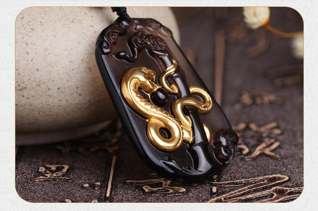 Natural ice obsidian snake pendant necklace pendant twelve men natural ice obsidian snake pendant necklace pendant twelve men female snake zodiac pendant gold pendant aloadofball Images