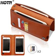 Роскошный кожаный чехол Универсальный ПУ кожа сумка для iPhone 7 6 Plus 5s S8 S7 Edge Xiaomi Redmi Note 3 полный Капа