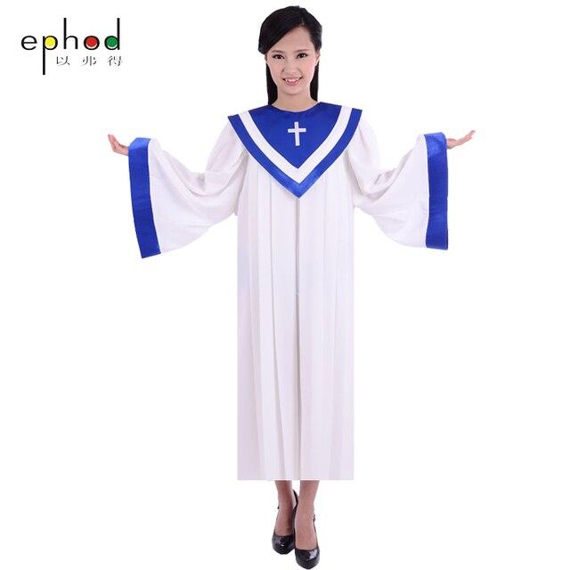 Favori USA et L'europe style Église robe poésie chorale Usure Haute  ZS29