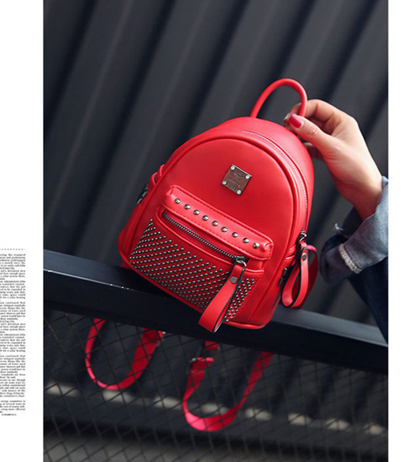 где купить NEW Fashion Designed Brand Backpack Women Backpack Leather School Bag Women Casual Style Backpacks Small Bags по лучшей цене