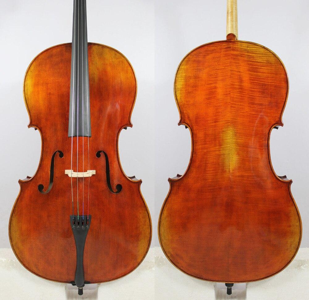 Copie de Pietro Giacomo Rogeri 1710 4/4 Violoncelle Tous Les Bois Européenne Meilleur Modèle