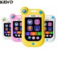 KAWO Multi-Functional Baby Stop Crying Phone Simulation Touch Screen Toy Mobile Phone Child Early Education Toy 4 Colors